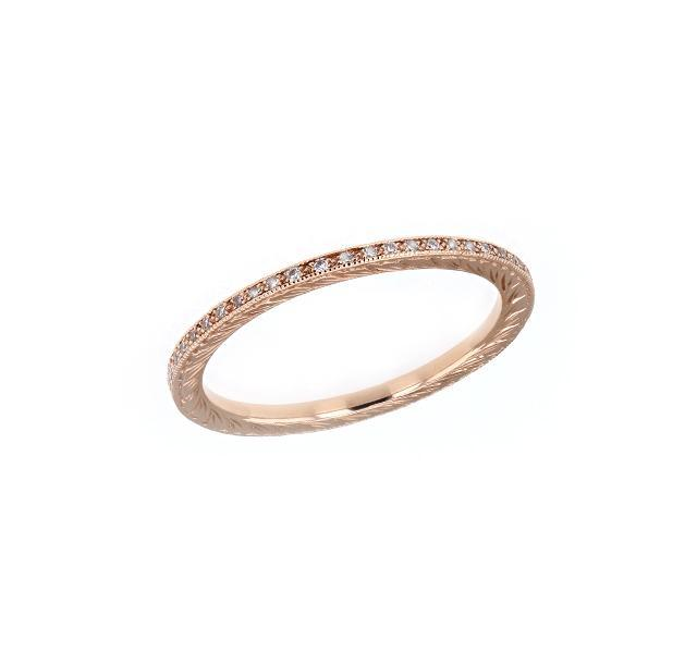 Diamond Eternity Band in Rose Gold