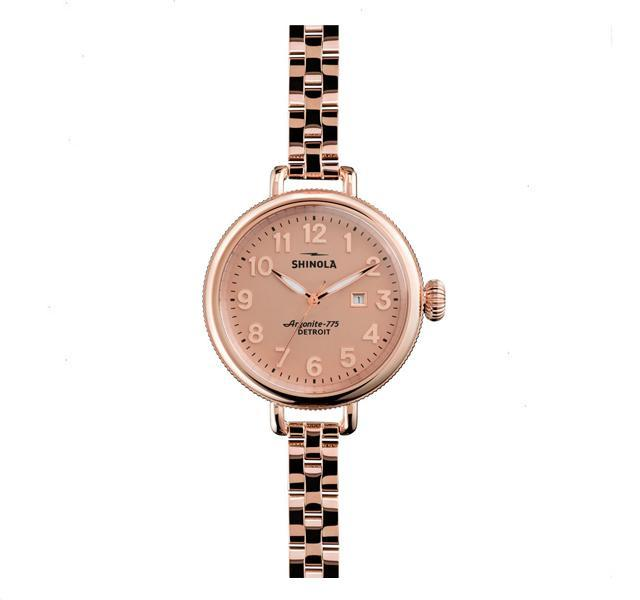 The Birdy 34mm with Rose Dial