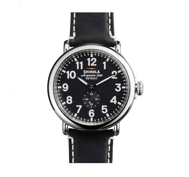 The Runwell 47mm With Black Dial