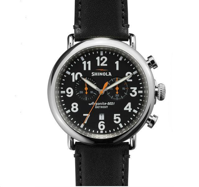 The Runwell Chronograph 47mm With Black Dial