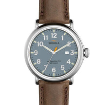 The Runwell 47mm with Slate Blue Dial