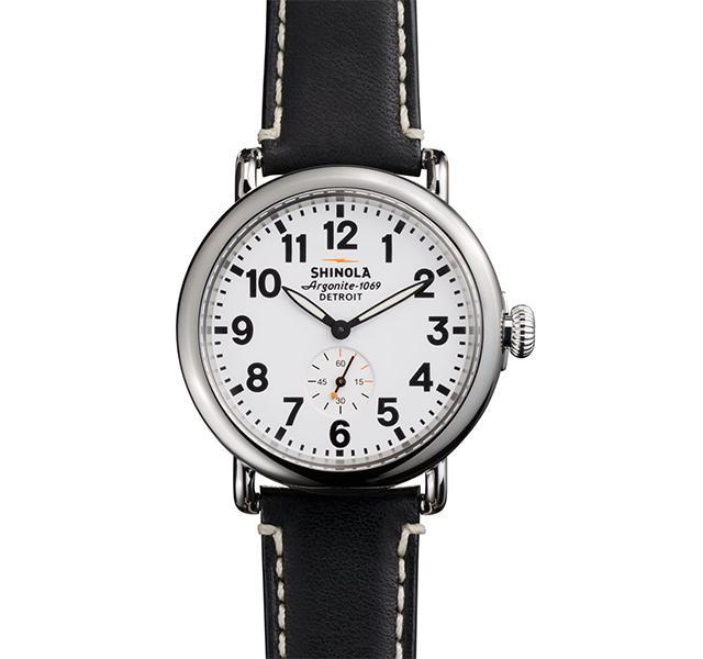 The Runwell 41mm with White Dial