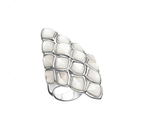 Superstone Mother-of-Pearl Ring