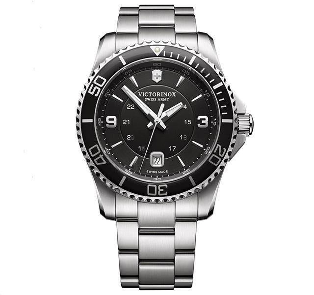 43mm Maverick Watch with Black Dial