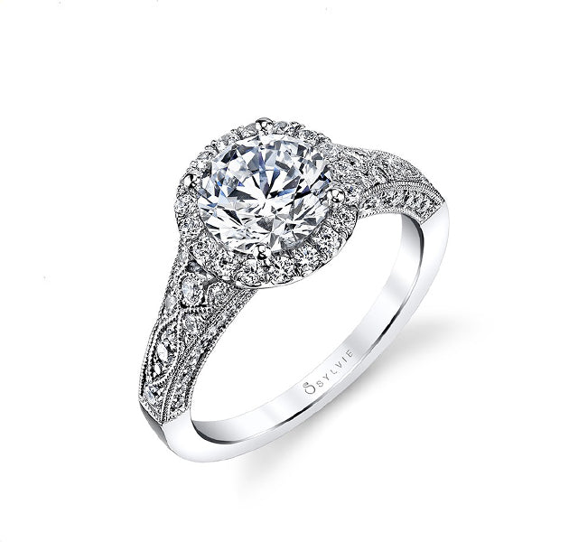 Vintage Diamond Engagement Ring Setting