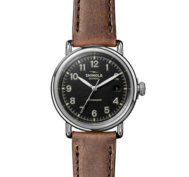 The Runwell Automatic 39.5mm With Black Dial