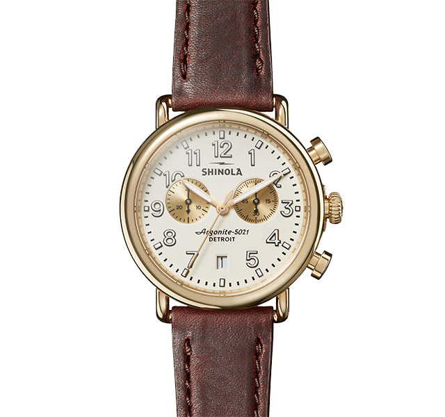 The Runwell Chrono 41mm With Cream Dial