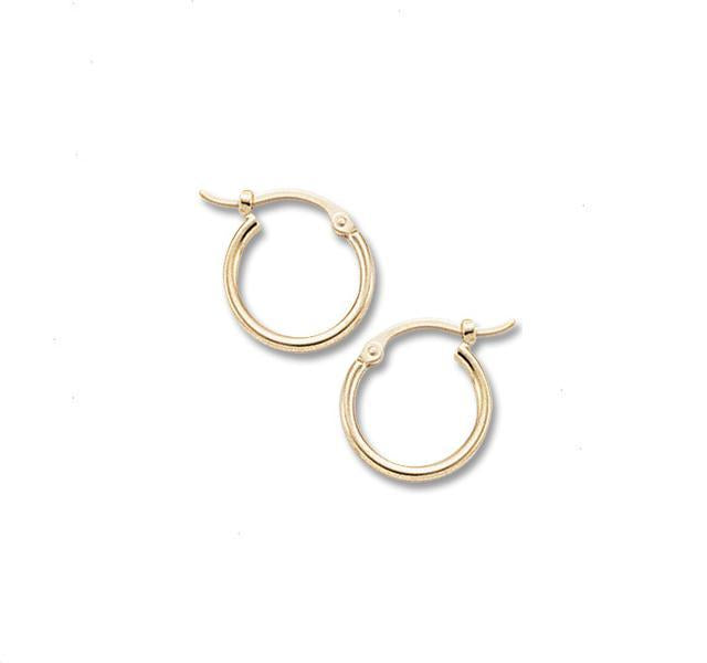 Small Gold Hoops