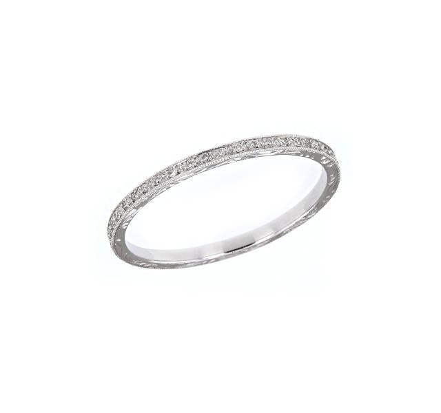 Narrow Diamond Eternity Band
