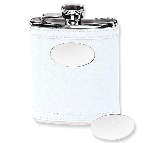 Stainless Steel Flask in White