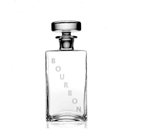 Lillian Square Bourbon Decanter