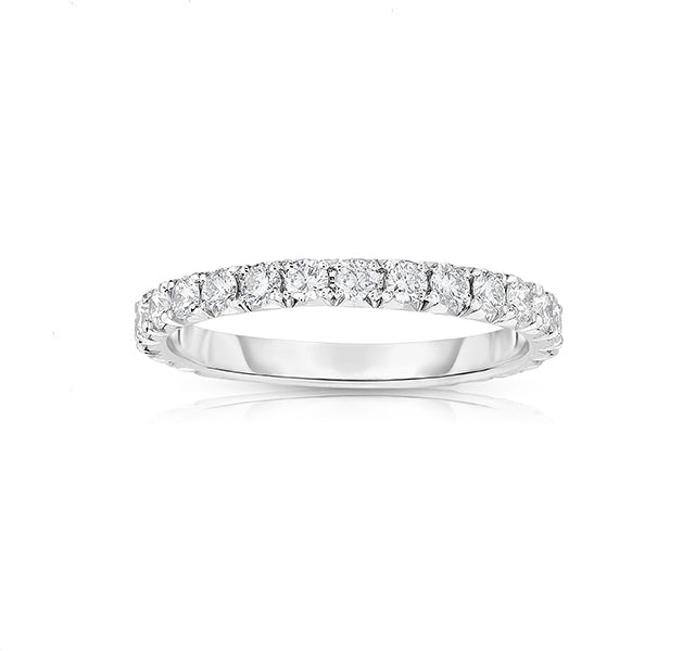 French Cut Eternity Band
