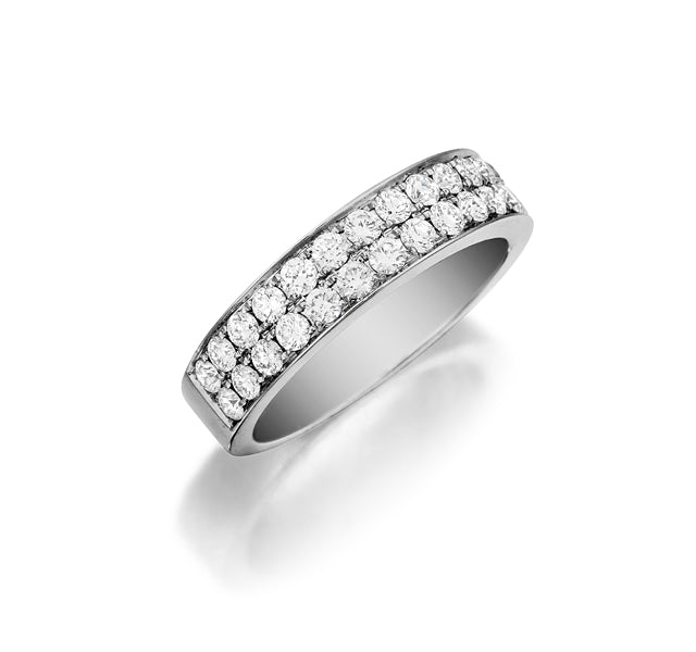 2-Row Large Pave Band