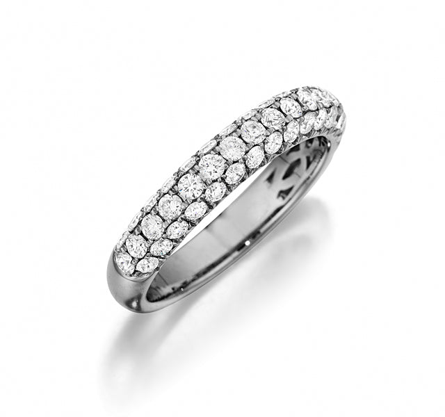 Domed Pave Band