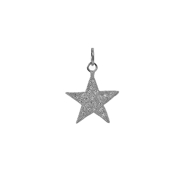 AUDI Small 14k Gold Diamond Star Charm