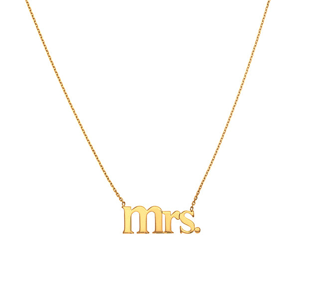 Mrs Cable Chain Necklace
