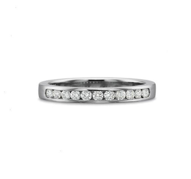 Classic Channel Set Diamond Band .25ct
