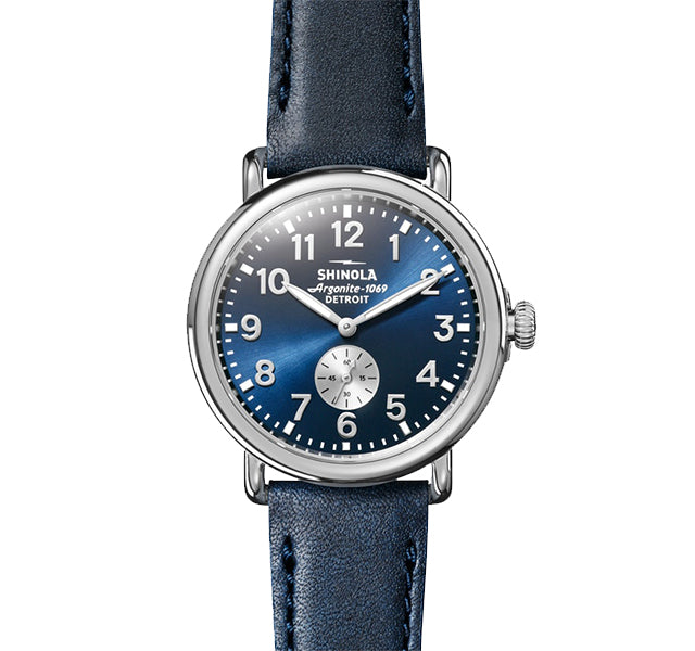 The Runwell 41mm With Midnight Blue Dial