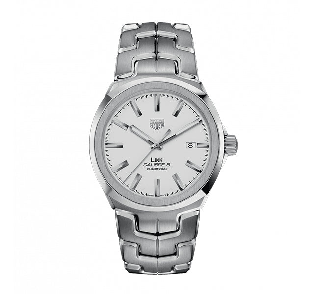 TAG Heuer Link Calibre 5 41mm With White Dial
