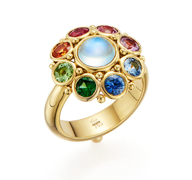 Rainbow Stella Ring