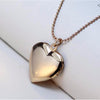 Dog Footprint Heart Pendant