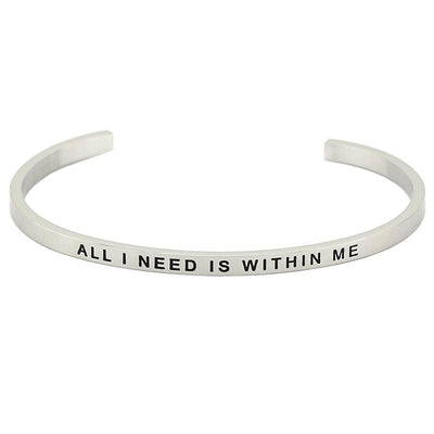 All I Need Is Within Me Bracelet - Shobble