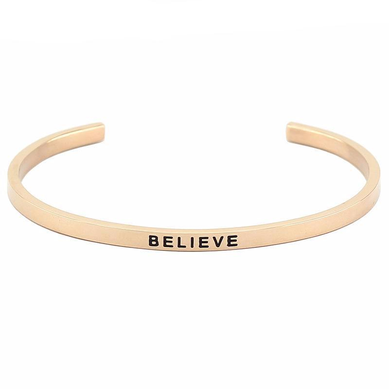 Believe Bracelet - Shobble