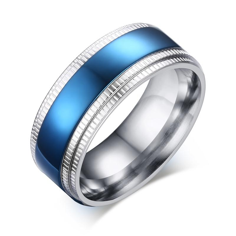 Blue Line Police Officer Ring - Shobble