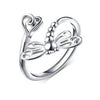 Dragon Fly Sterling Silver Ring