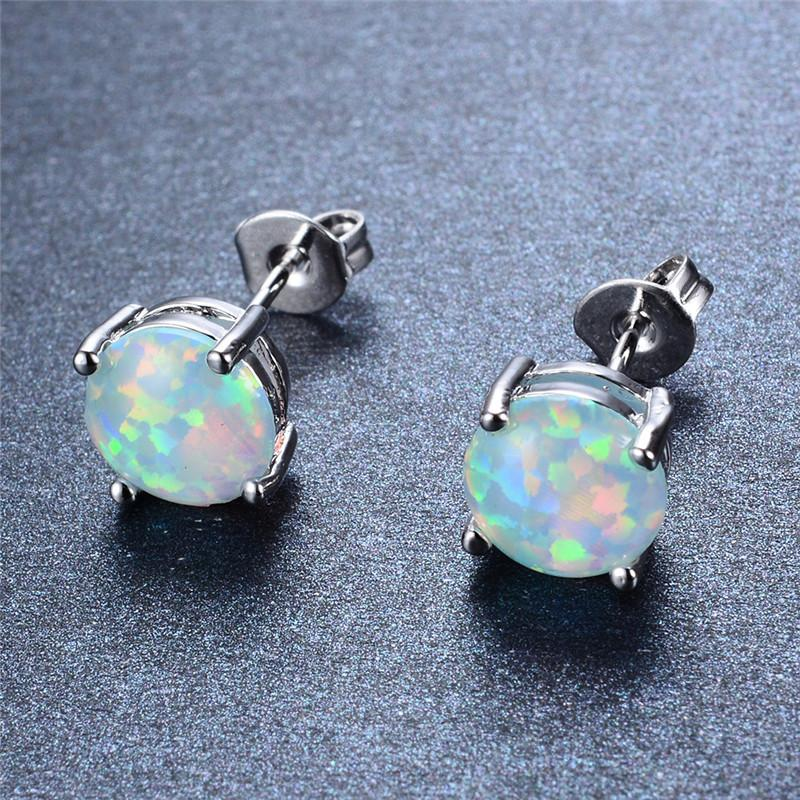 Fire Opal Earrings - Shobble