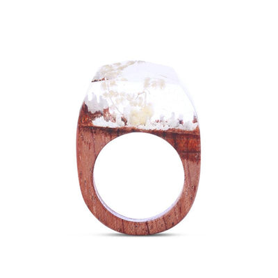 Ivory Resin Ring - Shobble