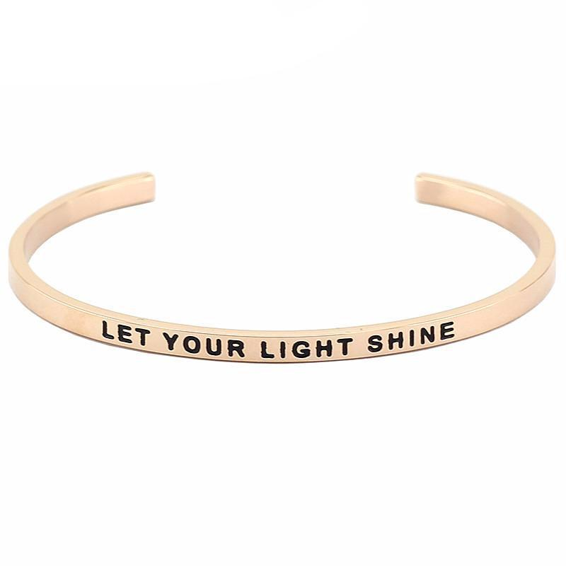 Let Your Light Shine Bracelet - Shobble
