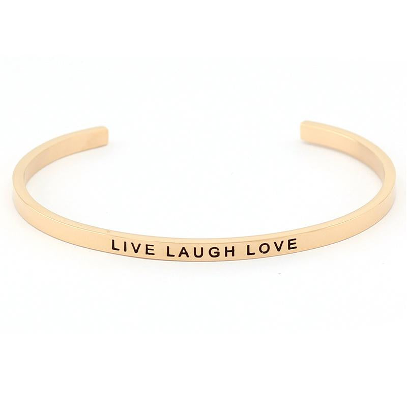 Live Laugh Love Bracelet - Shobble