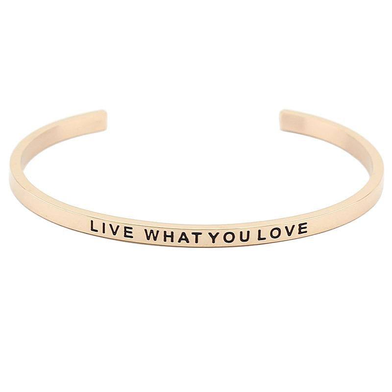 Live What You Love Bracelet - Shobble