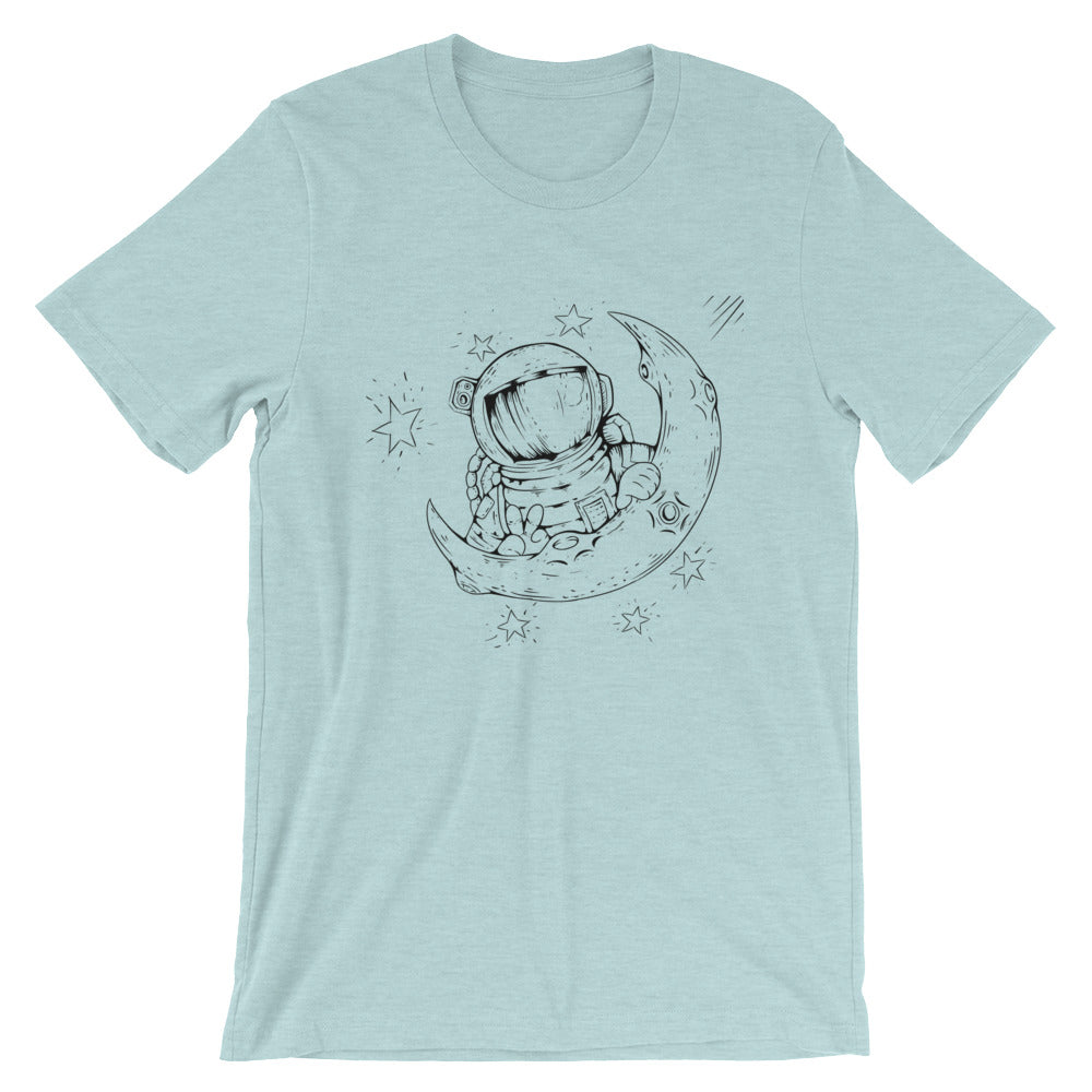 Lunar Runway - Short-Sleeve Unisex T-Shirt
