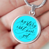 My Story Isn't Over Yet Pendant Necklace - Shobble