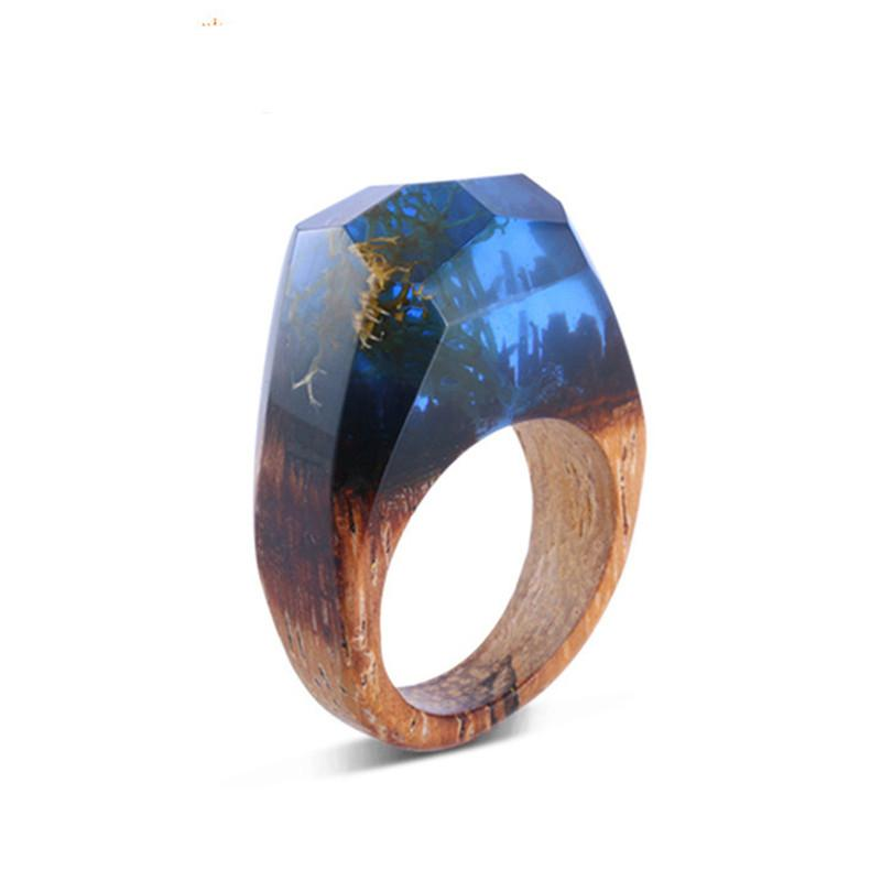 Ocean Deep Resin Ring - Shobble