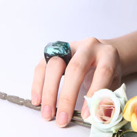 Octopus's Garden Resin Rings - Shobble