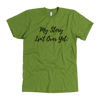 "Semicolon T-Shirt - ""My Story Isn't Over Yet"" - Shobble"