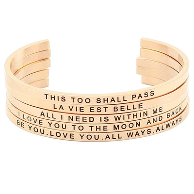 This Too Shall Pass Bracelet - Shobble