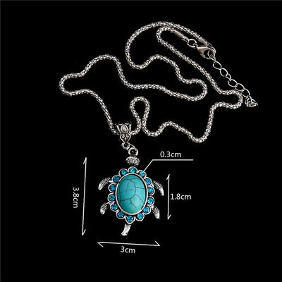 Tibetan Turtle Necklace - Shobble