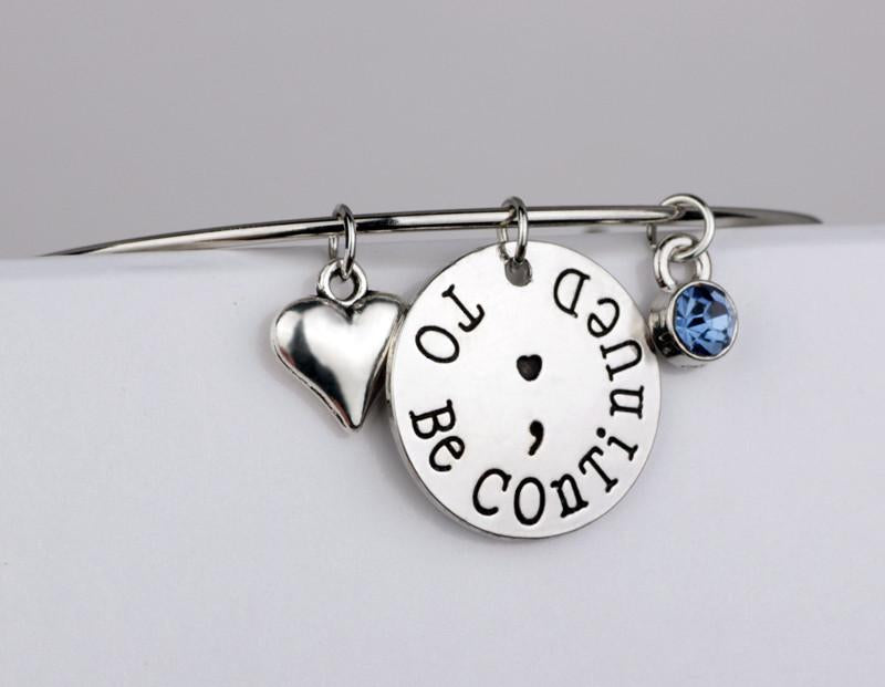 """To Be Continued"" Bangle - Exclusive Member Offer - Shobble"