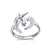 Unicorn Sterling Silver Ring