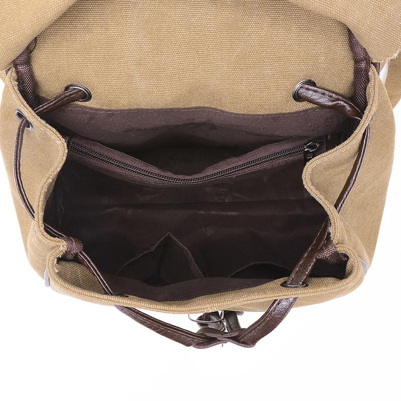Vintage Canvas Backpack - Shobble