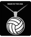 Volleyball Necklace - Shobble
