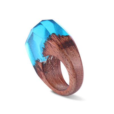 Winter of Yales Wooden Ring - Shobble