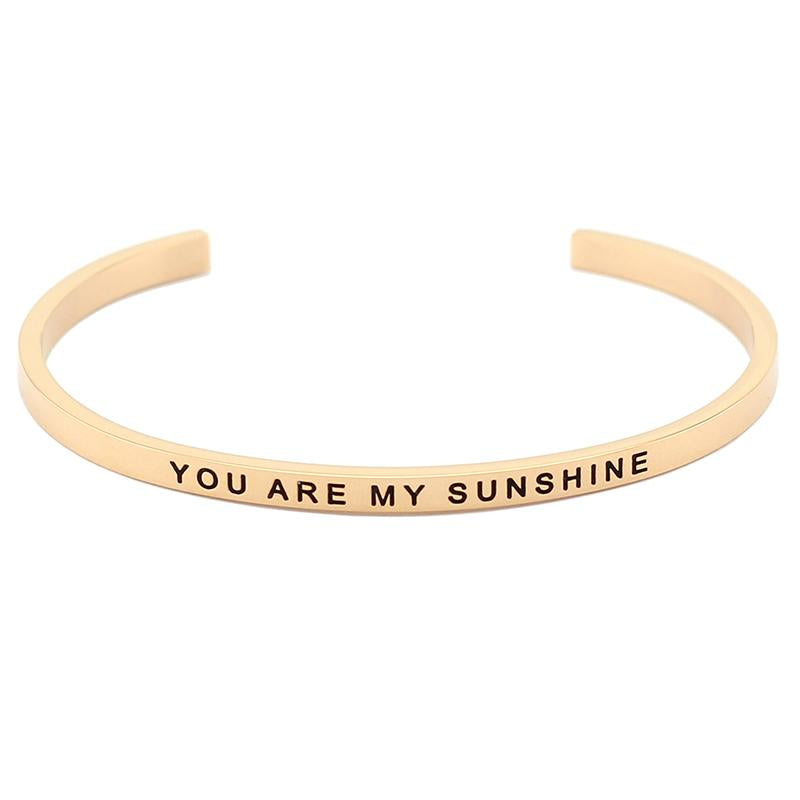 You Are My Sunshine Bracelet - Shobble