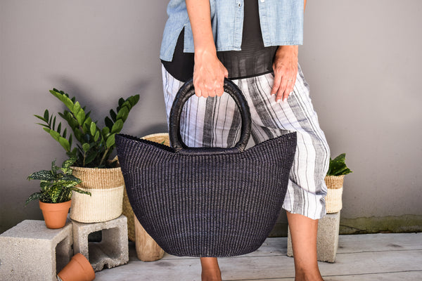 Navy/Black Wing Shopper