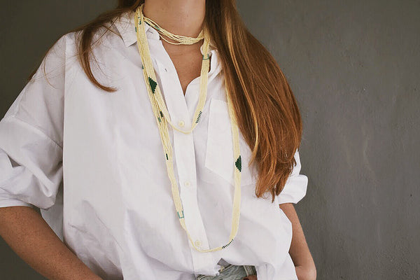 Verdure Bead Necklace