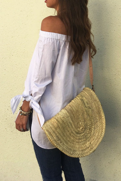 Palm Leaf Crossbody